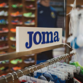 JOMA OPENS ITS FIRST BRAND STORE IN BULGARIA