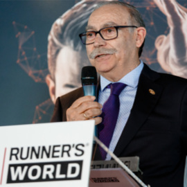 PRESIDENT OF JOMA, PIONEER RUNNING PRIZE